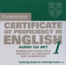 Promocja: Cambridge Certificate of Proficiency in English 1, Audio CDs (2)